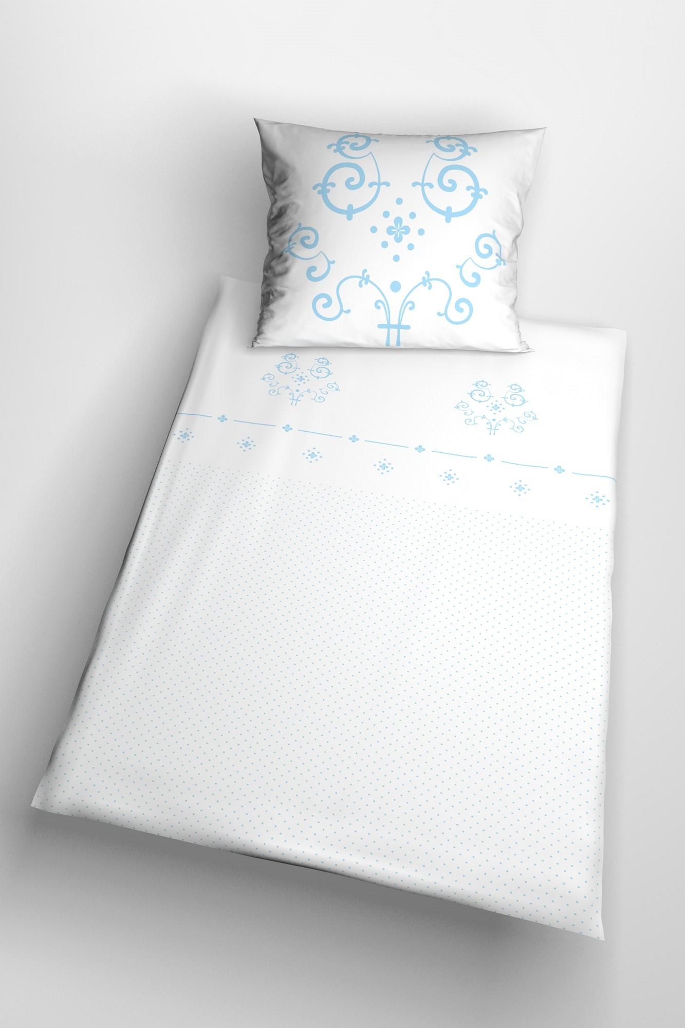 hochwertige satin bettw sche mit klassischem muster glamonde. Black Bedroom Furniture Sets. Home Design Ideas